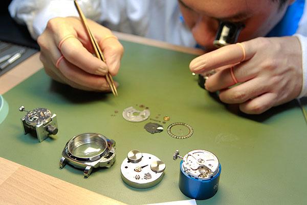 Механические часы ремонт своими руками